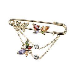 Austrian crystal brooch 154099