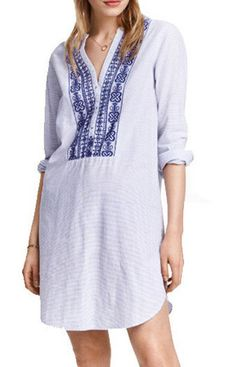 Specifications: Decoration:Embroidery Clothing Length:Short Pattern Type:Solid Sleeve Style:Regular Style:Fashion Fabric Type:Broadcloth Material:Cotton,Polyester Collar:O-Neck Sleeve Length:Sleeveles