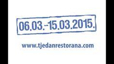 10. Tjedan restorana Zagreb 2015.