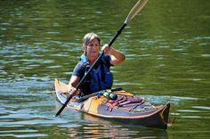 "Stitch-and-Glue Night Heron Sea Kayak from Nick Schade: 18' x 20"" x 41 ..."