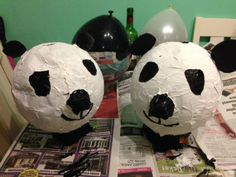 We love these panda collection boxes made by one of our London Marathon runners. Thanks Carys Wilcox!