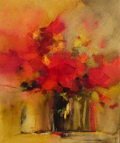 Bouquet Rouge Decembre 1214 by Malahicha