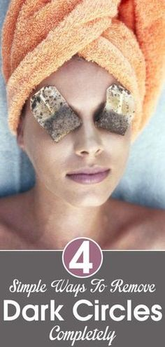 Looking to get rid of those dark circles under your eyes? Try one of these tricks!