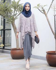 Kebaya Modern Hijab, Kebaya Hijab, Kebaya Brokat, Kebaya Muslim, Muslim Dress, Kebaya Lace, Kebaya Dress, Batik Kebaya, Hijab Dress Party