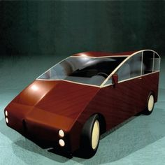 PLYWOOD CAR by Philippe Starck