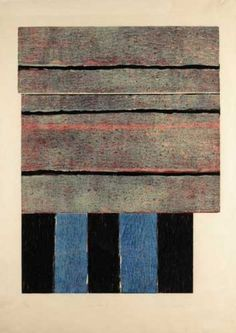 Sean Scully...a good selection of his work hangs in the Ft. Worth Museum of Modern Art.