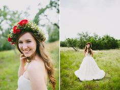 Bridal portraits from my wedding shot by Amber Vickery Photography at Vista West Ranch! Floral crown by Petal Pushers Floral Design! #bridal #bride #wedding #vistawestranch #photography #floralcrown
