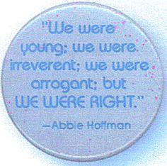 Abbie Hoffman quote