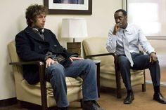 Don Cheadle and Adam Sandler in Reign Over Me Adam Sandler Movies, Reign Over Me, Romance Novels, Looking Back, Stress, Take That, Cinema, Ivory, Lost