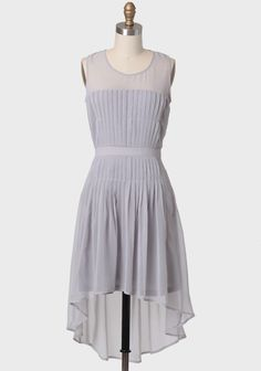 Evening Rendezvous Dress In Gray from Ruche Modern Vintage Dress, Vintage Inspired Dresses, Vintage Dresses, Sheer Dress, Dress Skirt, Reunion Dress, Cute Dresses, Summer Dresses, Summer Outfits