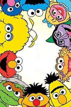 Sesame street on We Heart It