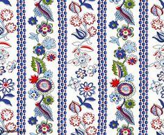 folk stripe fabric