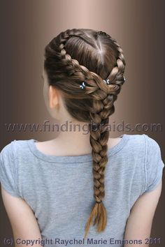 Heart Braid Hair Hair Styles Hair Braids pertaining to measurements 2336 X 3504 Heart Braid Hairstyles - Braid hairstyles are cute and sexy, and they are Baby Girl Hairstyles, Cool Braid Hairstyles, Pretty Hairstyles, Braid Styles, Short Hair Styles, Girls Long Hair Styles, Heart Braid, Girl Hair Dos, Cool Braids