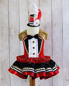 Girls Circus Costume Carnival Outfit Girl First Birthday Outfit Girl Circus Dress Girls Ringmaster Costume Circus Birthday Girl Costume Halloween, Ringmaster Costume, Circus Costume, Carnival Costumes, Halloween Costumes For Girls, Girl Costumes, Costume Dress, Snowman Costume, First Birthday Outfit Girl