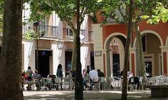 Cycling and cava in Catalonia – Gothic quarter of Vilafranca Del Penedes.