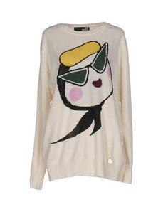 LOVE MOSCHINO Jumper. #lovemoschino #cloth #dress #top #skirt #pant #coat #jacket #jecket #beachwear #