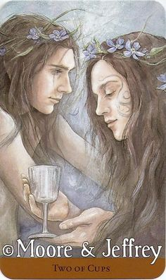 Two of Cups - Tarot of the Hidden Realm