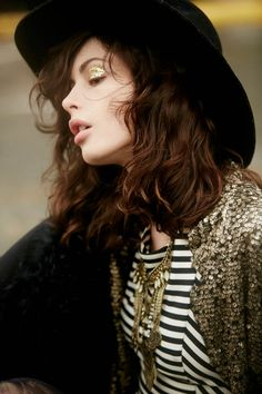 Model and a face of Maybelline, Charlotte Kemp Muhl photographed by Anthony Nocella for Free People Holiday Shoot. Kemp Muhl, Modern Gypsy, Ethnic Print, Rock Chic, Female Models, Lady, Bohemian Style, Fashion Photography, Hair Makeup