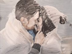 Jordan Ashley original - a painting I did from Taylor & Gene's engagement shoot. Engagement Shoots, Mount Rushmore, Creativity, The Originals, Nature, Artwork, Painting, Engagement Photos, Naturaleza