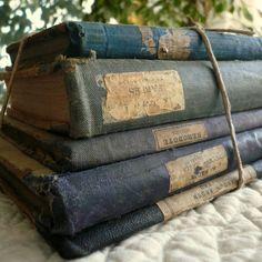 vintage books...