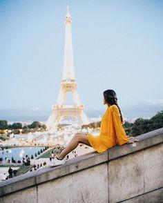 "19.5 mil Me gusta, 224 comentarios - Belen Hostalet (@belenhostalet) en Instagram: ""Bonne nuit Paris #toureiffel #paris"""