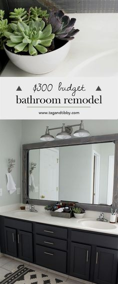 Slowly but surely we are bringing our home out of 1997 and into 2017! Last year I worked primarily on our master bedroom and dining room (plus an unexpected tile update in the 1/2 bath ). These rooms…MoreMore #bathroomremodeling