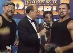WWF ROYAL RUMBLE 1992 - The Bushwhackers with Jameson