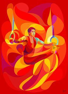 Waves of Color Illustrations  by Abduzeedo #ilustración #colores #inspiración