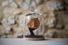 Hey, I found this really awesome Etsy listing at https://www.etsy.com/ru/listing/244408565/sculpture-origami-owl-under-a-glass-bell