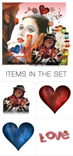 """""""I love you!"""" by mavihulett ❤ liked on Polyvore featuring art"""