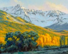 Today's spotlight on artists painting landscapes is Bob Rohm, who offers a video workshop on painting landscapes - specifically trees - trees in oil.