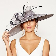 Buy Occasion hats & fascinators from the Womens department at Debenhams. You'll find the widest range of Occasion hats & fascinators products online and delivered to your door. Occasion Hats, Debenhams, Mother Of The Bride, Overlays, Shop Now, Floral Prints, Clothes For Women, Printed, Grey