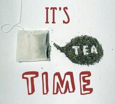 It's #tea time