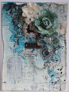 UmWowStudio CT Card -'Love'