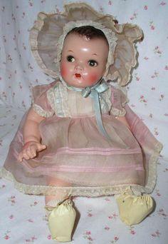"""IDEAL 16"""" Flirty Eye 1938 Princess Beatrix A/O EX~ w/ Huge Wardrobe"""