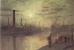 Reflections on the Aire: On Strike, Leeds, 1879
