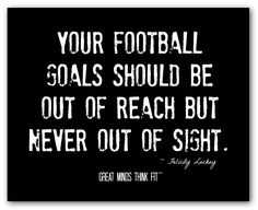 Inspirational Football Quotes for Sports Motivation Inspirational Football Quotes, Great Motivational Quotes, Inspirational Quotes Wallpapers, Football Signs, Youth Football, School Football, Football Stuff, Football Posters, Football Cheer