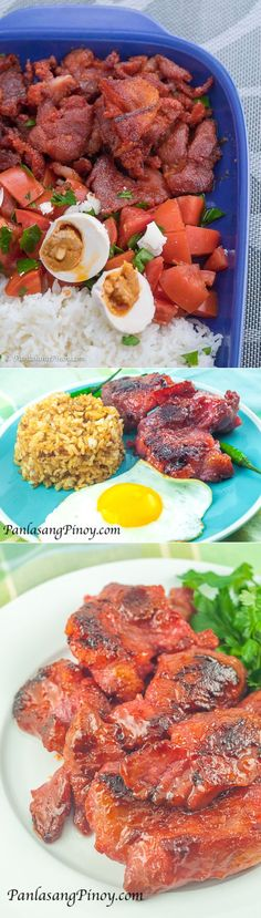 Tried and Tested Homemade Pork Tocino Recipes from Panlasang Pinoy. Tocino is usually made from pork and is eaten as part of a breakfast meal.