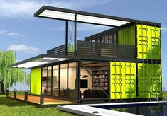 Do I Need Planning Permission For A Container House Container Shop, Storage Container Homes, Container Van House, Container Architecture, Architecture Design, Shipping Container Home Designs, Shipping Containers, Shipping Container Buildings, Building A Container Home