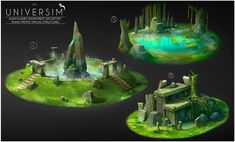 "Concept art for the game ""Universim"", Dhruv Chakkamadam on ArtStation at https://www.artstation.com/artwork/concept-art-for-the-game-universim"