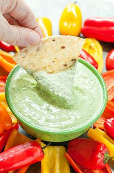 Get ready to PARTY with this sassy + spicy 5-minute Jalapeño Dip!