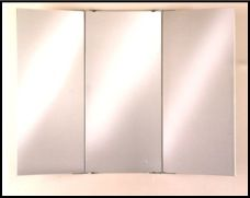 Tri Fold Mirrors Totally Need This In My Bathroom Can Be Flush Mounted To