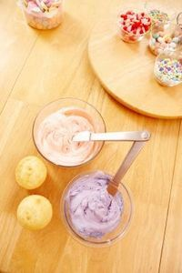 """How to Make Store Bought Frosting Better. """"Improving taste"""" add 8 oz. softened cream cheese."""