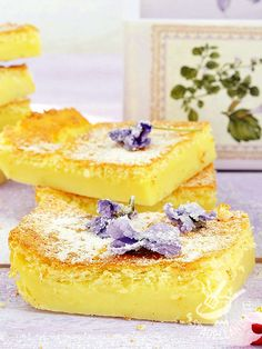 Cooked cream pie - La Torta di crema cotta è un dolce buonissimo, alla portata di tutti e davvero irresistibile. Quando la voglia di dolcezza prende il sopravvento!