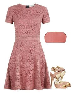 """""""Untitled #2042"""" by carlene-lindsay ❤ liked on Polyvore featuring Burberry, Brian Atwood and Mansur Gavriel"""