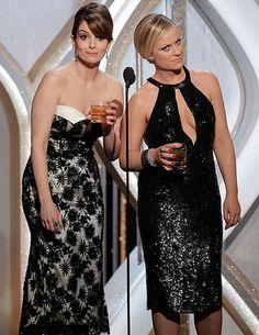Sorry, Folks, Tina Fey Says 'No Way' She'll Ever Host the #Oscars these two ladies are incredible funny