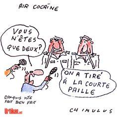 Air Cocaïne : une situation dramatique pour ceux qui sont restés - Dessin du jour - Urtikan.net