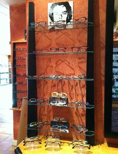 Wine Rack, Dutch, Eyewear, California, Display, Home Decor, Santa Cruz, Floor Space, Eyeglasses