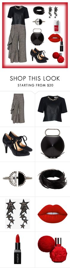 """""""Sem título #400"""" by criscaruccio ❤ liked on Polyvore featuring Rachel Comey, Erdem, Avon, 3.1 Phillip Lim, Bony Levy, Dries Van Noten, Luis Miguel Howard, Couture Colour, Lime Crime and Smashbox"""