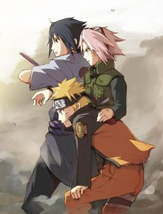 Team 7 [Even though I can't stand Saukara & Sauske I love it when they are a team, this is a good picture]
